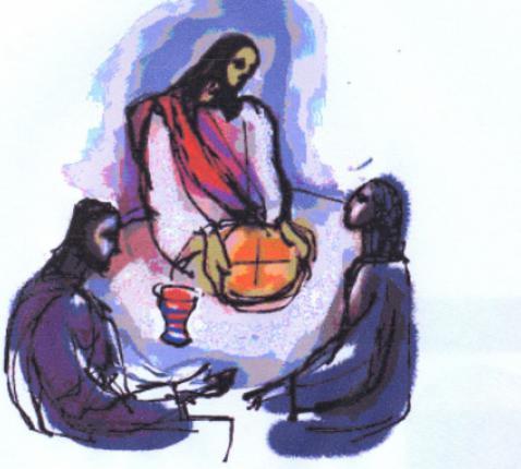 Samen op weg gaan en samen rond de tafel zitten staan centraal in het evangelie van de derde paaszondag.