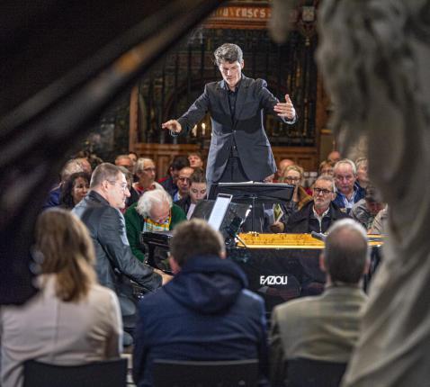 Concert 'Het leidende Lam' © Bisdom Gent, foto: Frank Bahnmüller