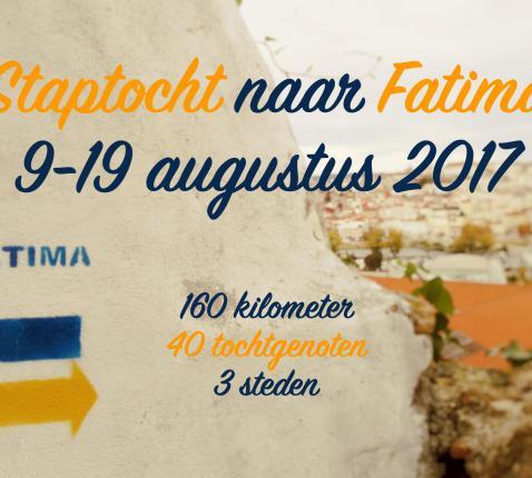 Flyer Fátima © IJD-Jongerenpastoraal Vlaanderen