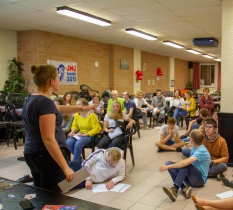 Deelnemersweekend in Mechelen © Koen Vandenbossche