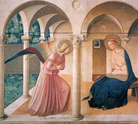 Maria boodschap © Fra Angelico