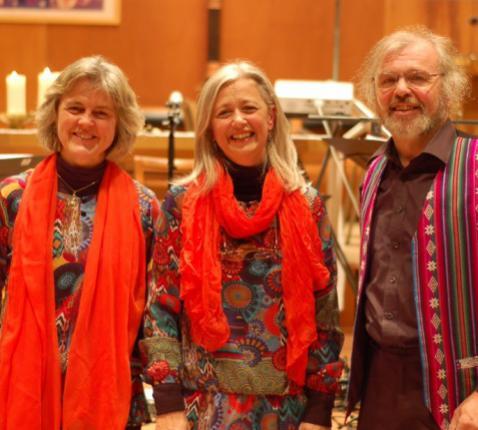 GPS Trio (van links): Grazia Previdi, Béatrice Sepulchre en Philippe Goeseels. © GPS Trio