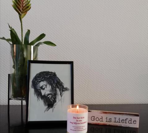 Gebedshoekje © P.E. Sint-Trudo