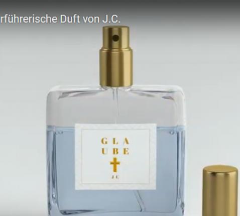 Het bijzondere parfum van het bisdom Essen voor Hemelvaarts- en Vaderdag: Galube van JC © Bisdom Essen