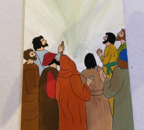 Godly Play - Jezus leren kennen op een nieuwe manier. © Joke Vermeire