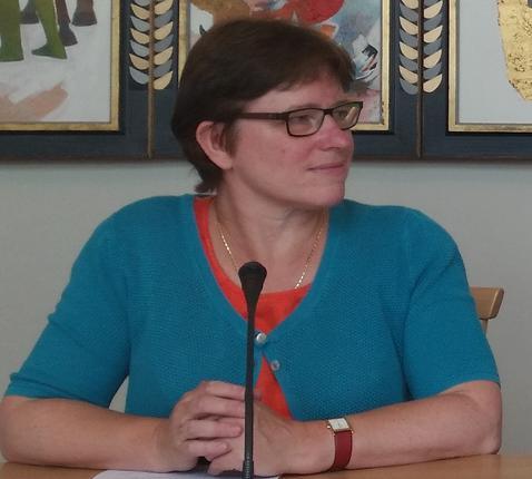 Hilde Pex, coördinator van de Interdiocesane Dienst voor Gezinspastoraal © IPID