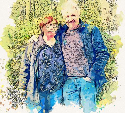 Hilde en Paul Anthonissen, al 30 jaar pleegzorgouders.
