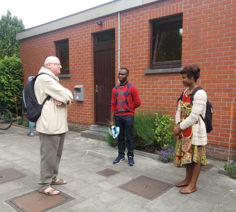 Bisschop Lode bezoekt OBSG © OBSG