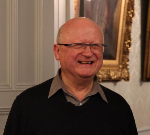 Mgr Lode Van Hecke tijdens zijn verwelkoming in het bisschopshuis te Gent © Bisdom Gent, foto: Ellen Eeckhout
