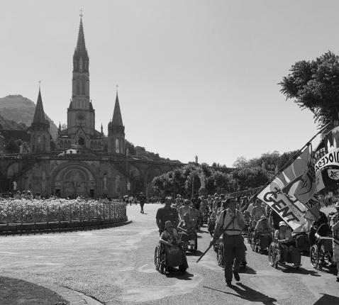 geen zomerbedevaart naar Lourdes in 2020 © Jonathan BEYAERT