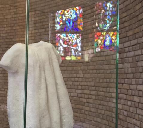 Esse est Percipi, beeld voor slachtoffers van misbruik in de kerk. © Lieve Wouters