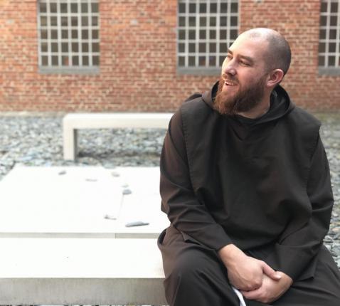 Igor De Bliquy: 'De broederlijkheid van een gemeenschap trok me sterk aan. Kapucijn worden, is voor mij als thuis komen.' © Lieve Wouters