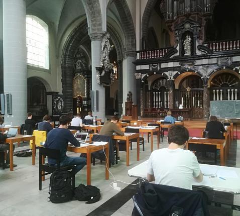Blok@kerk Brugge © Inge Cordemans