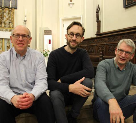 Drie nieuwe permanente diakens voor het aartsbisdom Mechelen-Brussel © Tim Peeters