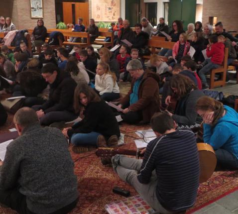 Gebedsviering in de geest van Taizé