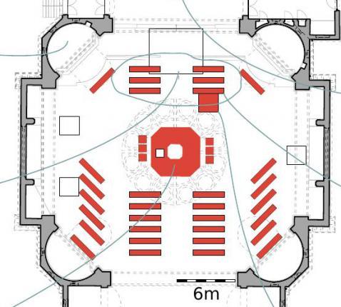 Herinrichting van de liturgische ruimte in de Heilig-Hartkerk