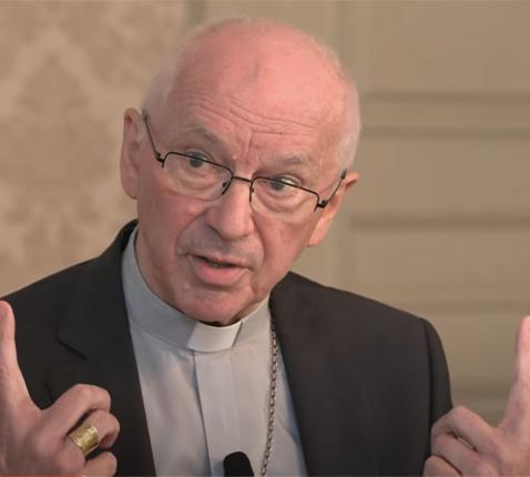 Kardinaal De Kesel in gesprek over zijn boek 'Geloof en godsdienst in een seculiere samenleving'.