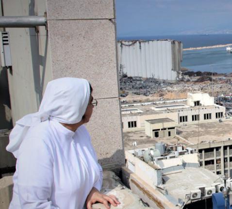 Kerk in Nood heeft ook de heropbouw gesteund in Libanon © Kerk in Nood