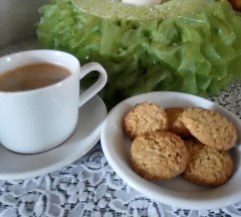 Koekjes voor bij de koffie © RvH