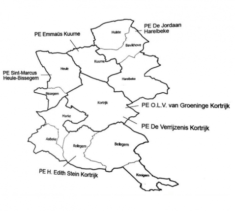 kaart decanaat
