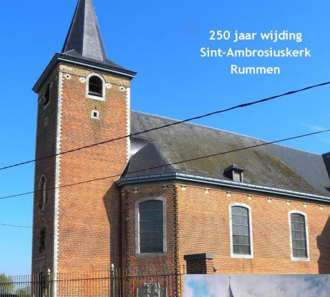 Boek 250 jaar Sint-Ambrosiuskerk Rummen © Guy Leus