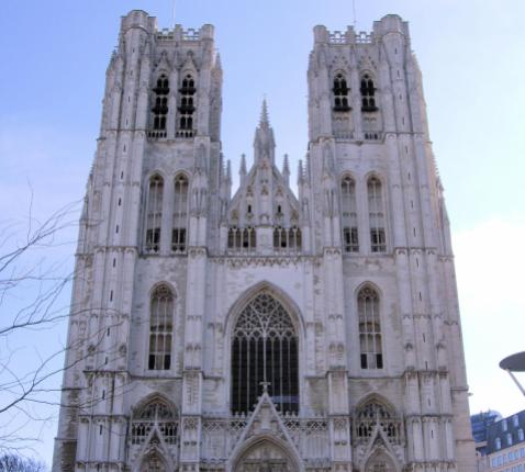 Kathedraal Brussel © Wikimedia Commons
