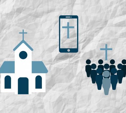 Wij zijn de kerk, waar we elkaar ook ontmoeten.