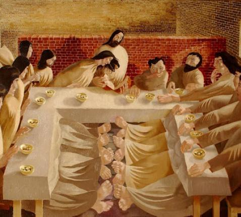 Last Supper (Stanley Spencer, 1920)