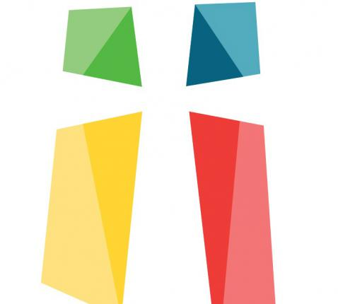Logo van de Pastorale Eenheid Heilige Damiaan