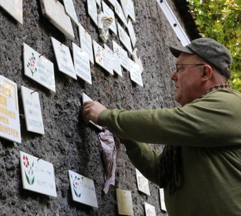 Opkuis Lourdesgrot Kortrijk © Wilfried Dujardin