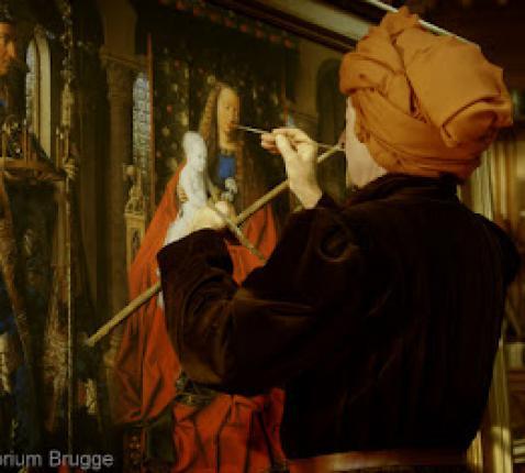 Met Van Eyck naar het Middeleeuwse Brugge