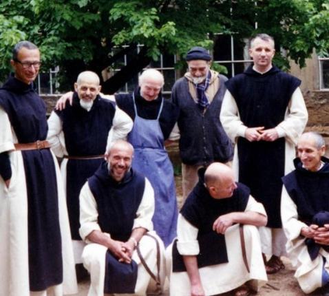 Monniken in Thibirine © Association des Ecrits des 7 de l'Atlas