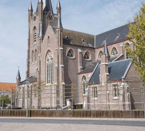 Onze-Lieve-Vrouwekerk Leffinge © Bart Lagrange
