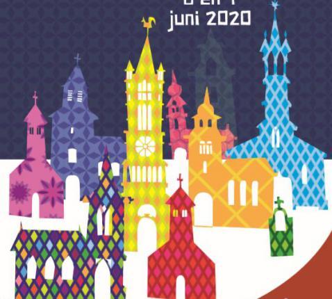Open Kerkendagen: affiche 2020