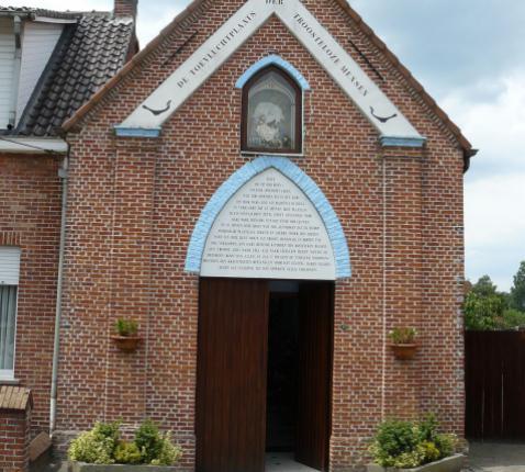 Kapel Pannenhuisstraat Klein-Sinaai