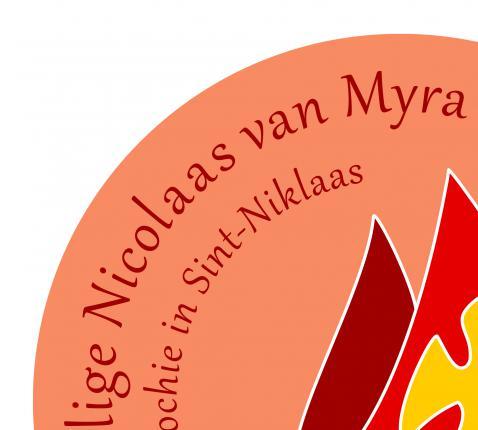 Logo parochie in Sint-Niklaas