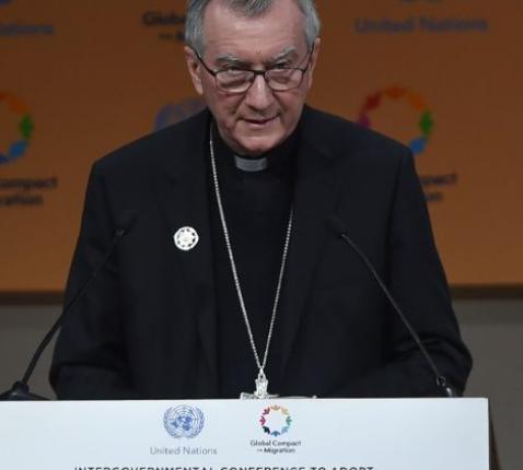 Staatssecretaris Pietro Parolin © Vatican Media