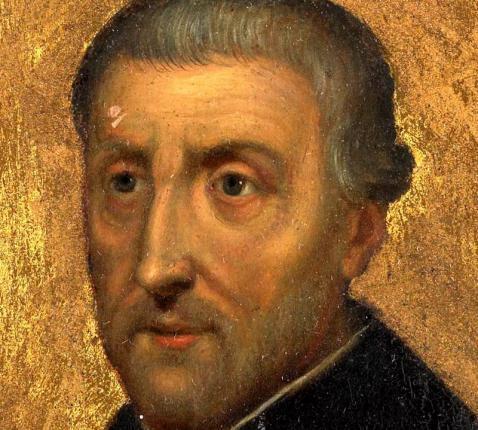 De heilige Petrus Canisius © Wikipedia