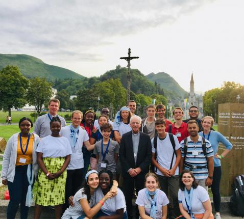 Bedevaart Lourdes © Pastorale des jeunes