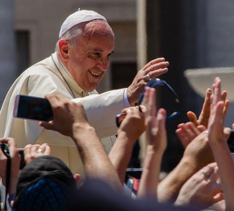 Ontmoeting met Paus Franciscus © Alfredo Borba, CC BY-SA 4.0