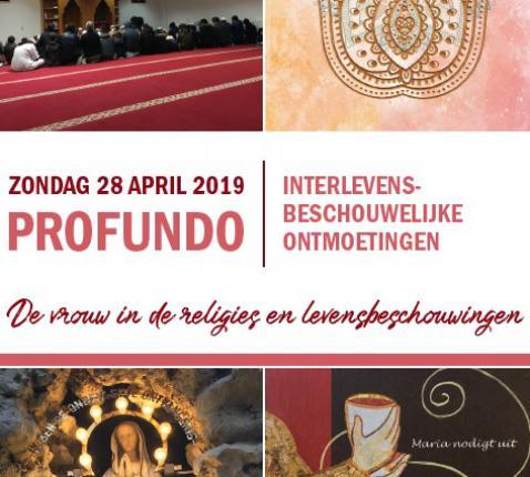 Op 28 april organiseert Profundo een dag over de vrouw in levensbeschouwingen.