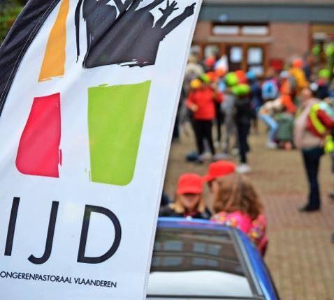 Dit jaar geen tweeduizend jongeren op de Missiodag, wel luisterend naar Radio Hosanna. © IJD Vlaams-Brabant en Mechelen