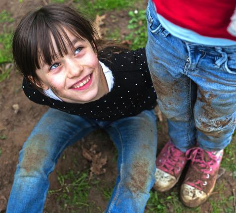 De wereld verandert, maar kinderen blijven kinderen. © Mine Dalemans