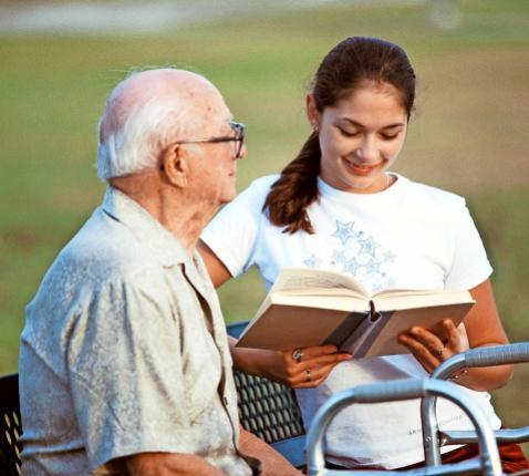 Jonge mantelzorgers praten niet graag of vaak over hun thuissituatie. © Imageselect