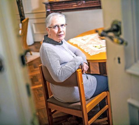 """Zuster Noëlla Ghijs hoopvol: """"Heel wat congregaties zullen de deuren sluiten. En toch...""""  © Frank Bahnmüller"""