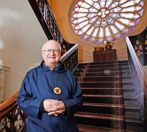 """Lode Van Hecke: """"God vraagt dat we, elk op onze plaats, onze verantwoordelijkheid nemen.""""  © Kristof Ghyselinck"""