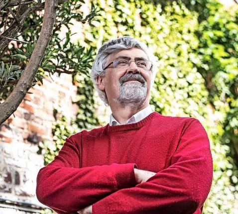 """Marc Desmet: """"Als palliatief arts ben ik het gewoon knopen door te hakken na een gezamenlijk beslissingsproces.""""  © Marco Mertens"""
