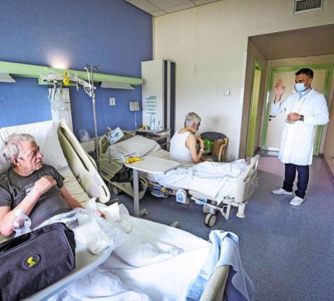 Volgens Samaritanus bonus heeft iedere mens recht op levensnabije zorg tot het einde.  © KNA-Bild
