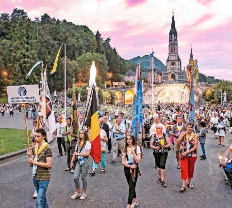 Diocesane Lourdesbedevaarten zijn familiaal. © Diocesane bedevaarten Mechelen-Brussel