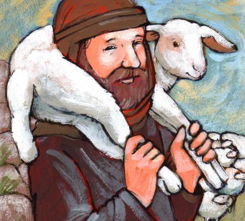 De goede herder © Roel Ottow